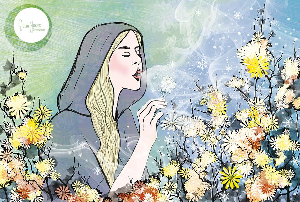 Eisheilige 2012, Illustration von Julia Horak